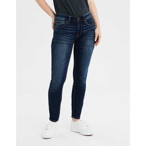 AEO Ne(x)t Level Stretch Dark Wash Skinny Jeans